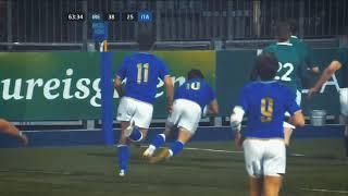 6 Nazioni 2018: tutte le mete dell'Italia U20