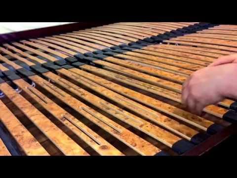 Federholzrahmen Reparatur Lattenrahmen Inspektion Lattenrost Wartung und reparieren Anleitung