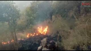 Over 20 students stuck in Theni forest fire, massive rescue operations underway
