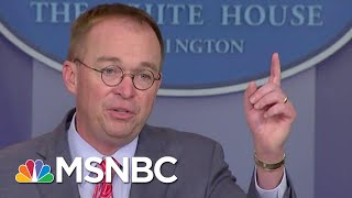 'Drug Deal' Busted: How Mulvaney's Bid To Sue Trump With Bolton Blew Up In His Face | MSNBC