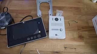 Review - Klingel mit Kamera und 7 Zoll Monitor von 1byone
