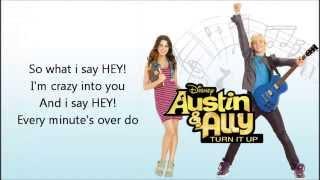 Upside Down Lyrics FULL SONG   Ross Lynch   Austin & Ally HD