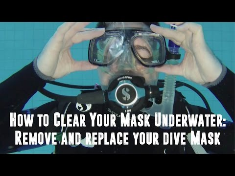 How to Clear Your Mask Underwater: Remove and Replace your Dive Mask