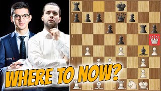 Queen Trapped - Or Is It? || Nepo Vs Giri || Chess24 Legends Of Chess (2020)
