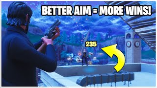 WIN MORE FIGHTS! Fortnite Shotgun Aim Course Training -  BEST Tips & Tricks!