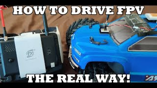 STAY AT HOME AND DRIVE YOUR RC (the real way to FPV your car)