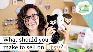 What Should You Sell On Etsy? Handmade Product Tips | @laurenfairwx