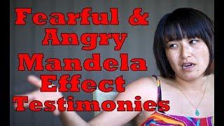 Fearful & Angry Mandela Effect Testimonies - PART 25