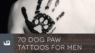 70 Dog Paw Tattoos For Men