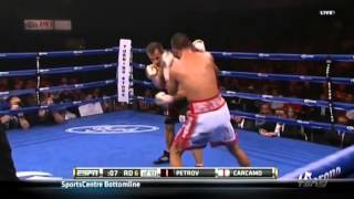 Petr Petrov vs Fernando Carcamo 23 05 2014 ESPN Firday Night Fights