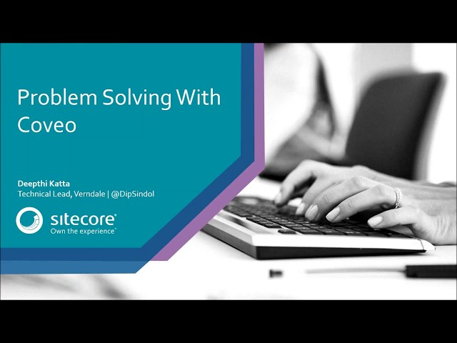 Problem Solving with Coveo