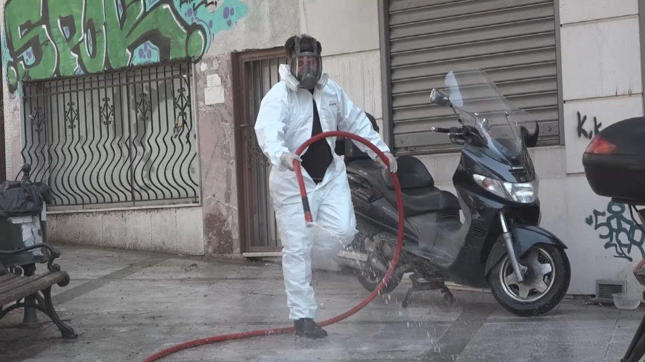 Σε εξάμηνη απολύμανση κάδων, δρόμων και αστικού εξοπλισμού προχωρά ο δήμος Νεάπολης – Συκεών