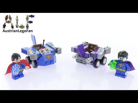 Vidéo LEGO DC Comics Super Heroes 76068 : Mighty Micros : Superman contre Bizarro
