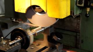 Cylindrical Grinding on a surface grinder