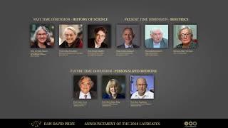 Laureates Announced 2018