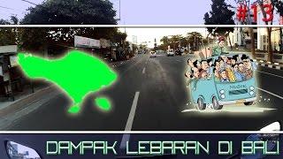 Suasana Di Bali Saat Lebaran - Motovlog #13