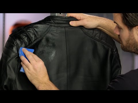 Video How To Clean & Maintain Your Leather Motorcycle Gear at RevZilla.com