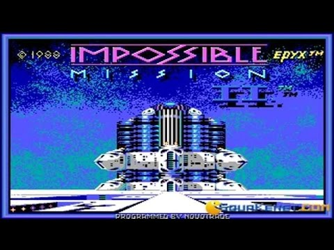 Impossible Mission 2 gameplay (PC Game, 1988)