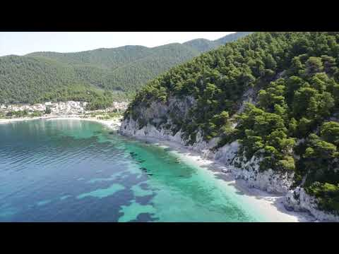 Sea waves & beach drone video | Free HD Video - no copyright