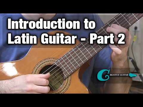 LATIN GUITAR LESSON (Part 2): Chord Vamps