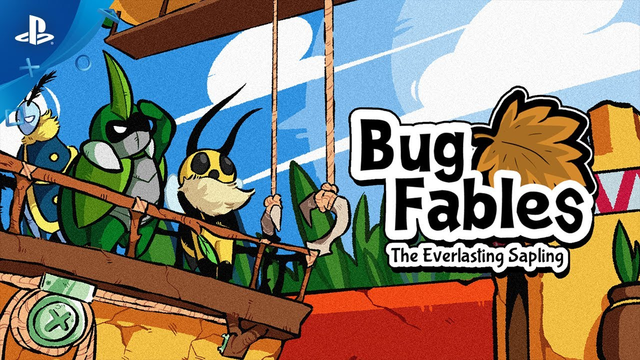 Charming RPG Bug Fables: The Everlasting Sapling Is Out Today on PS4