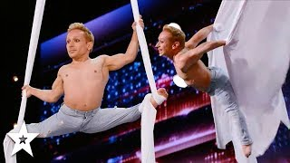 Breathtaking Aerial Silks Audition WOWS Judges on AGT! | Got Talent Global