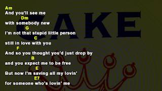 I Will Survive, Cake - Chords And Lyrics