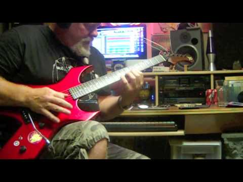 Ron Meyer free-jamming on my 1984 BC Rich Warlock II