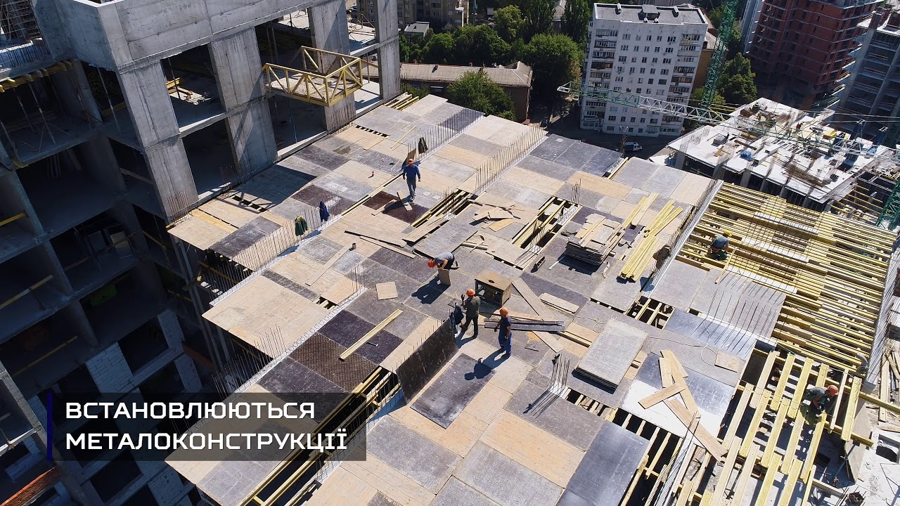 Новопечерська вежа - Липень 2018