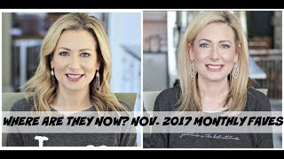 Where Are They Now? Looking Back at Monthly Favorites | Nov. 2017 | MsGoldgirl