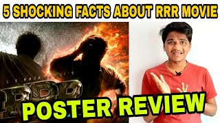 RRR Motion Poster Teaser Review by Suraj Kumar | 5 Shocking facts About RRR Movie |