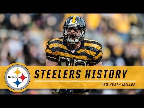 Heath Miller: A Career Retrospective | Pittsburgh Steelers