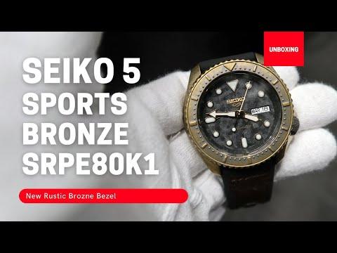 SEIKO 5 SPORTS AUTOMATIC WATCH SRPE80K1