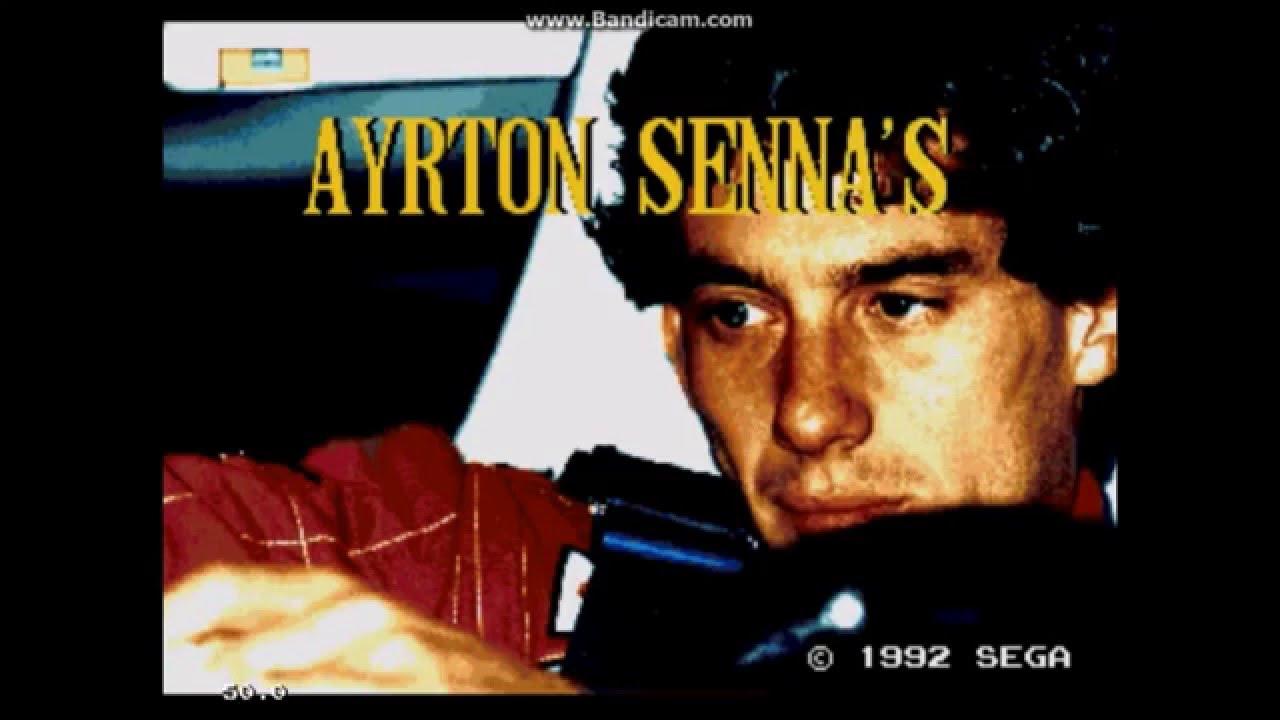 Ayrton Senna's Super Monaco GP II (Sega Mega Drive / Sega Genesis) – Ravenking's Gameplay
