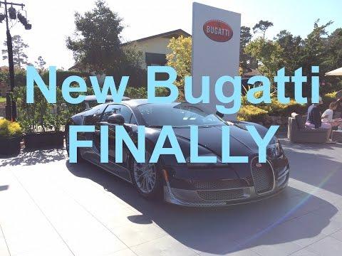 Bugatti CEO Talks Veyron Successor (Surprise!) at Pebble Beach