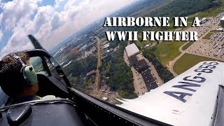 Flying a P-51 Mustang