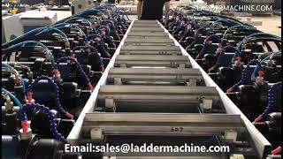 Ladder Flange Machine youtube video