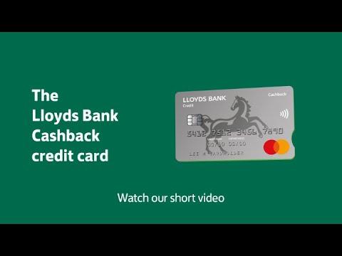 Cashback Credit Cards - Apply Online Lloyds Bank
