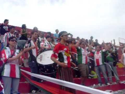 """""""Palestino Los Baisanos - por el tino por el tino, saquen un grito de corazon"""" Barra: Los Baisanos • Club: Club Deportivo Palestino"""
