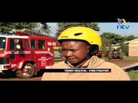 Tharaka's lady firefighter: Terry Nkatha is the only female firefighter in the county
