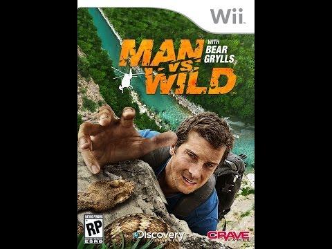 man vs wild wii youtube
