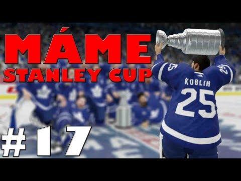 NHL 19 | KOBLIH GOLMANEM #17 | MÁME STANLEY CUP!! | CZ/SK
