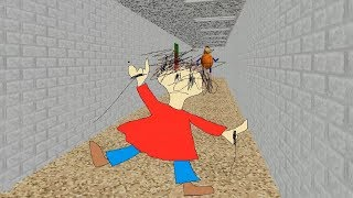 I cut the playtime's rope - Baldi's Basics in Education and Learning New update 1.3