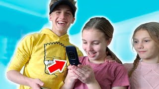 Abby Gets Her First CELL PHONE