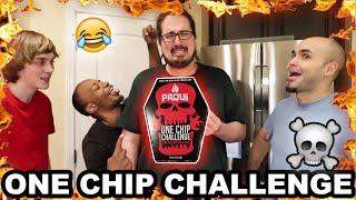 SML Crew Eats World's SPICIEST PEPPER CHIP!!