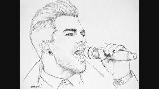Things I Didn't Say Adam Lambert 2/23/16 Drawings by lovesquall1 Audio AdamsKitty HD