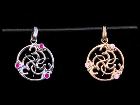 The OM Collection, Pink Lotus Jewelry