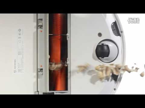 The powerful suction Demo of Xiaomi Mijia Mi Robot Vacuum