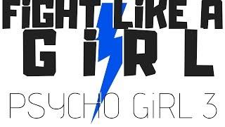 PSYCHO GiRL 3 LYRICS | FiGHT LiKE A GiRL | Psycho Girl Minecraft Song