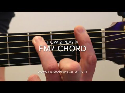 How to play a Fm7 chord on guitar